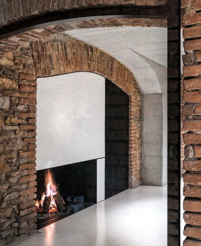 white concrete old house io architects 1