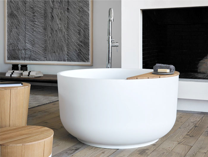 bathroom design trends round bathtub ethno style 1