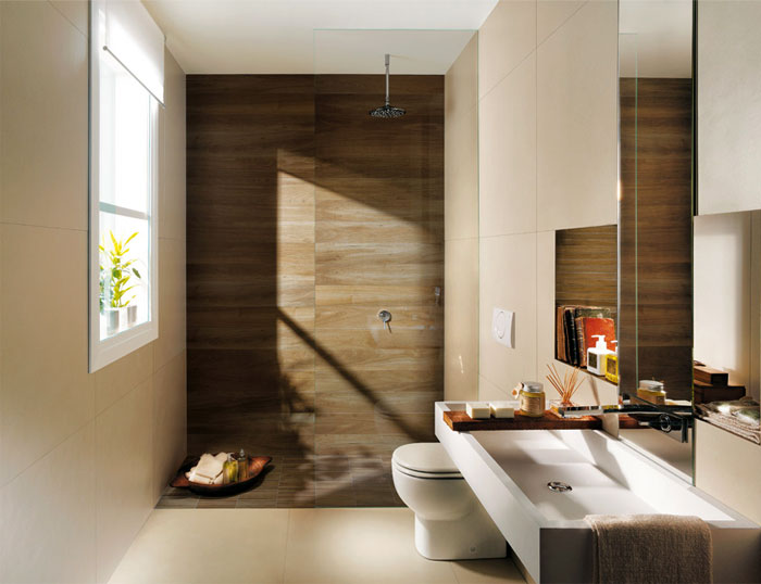 bathroom trends avoid wood imitation tile