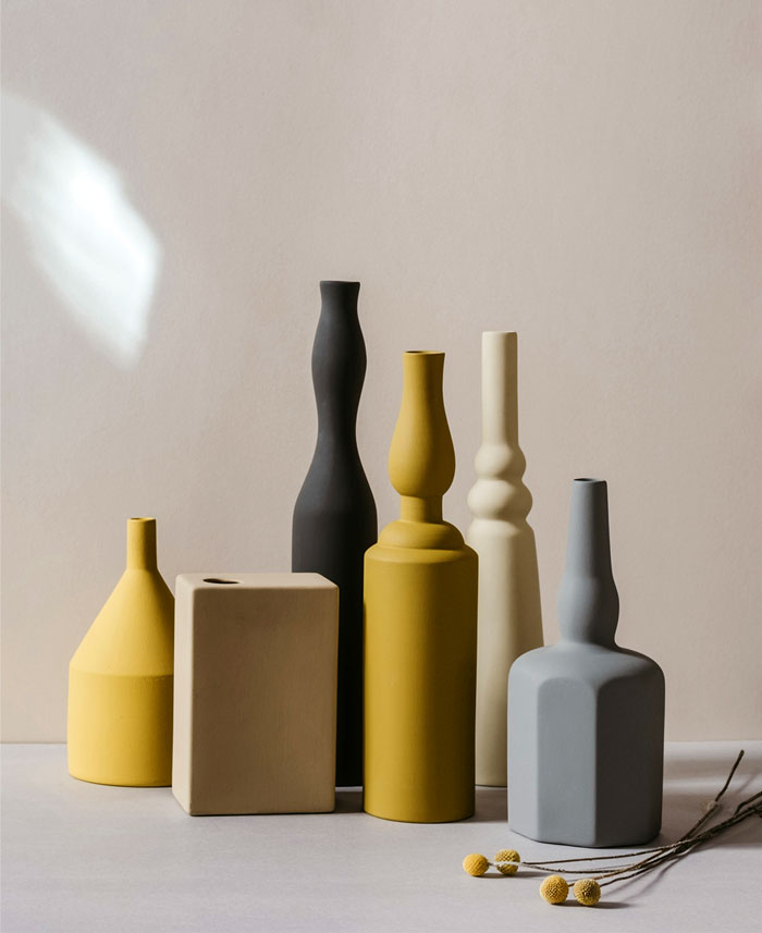 Ceramic Vases Inspired By Giorgio Morandi Still Life