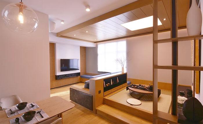 Hong Kong Apartment with an Asian-Inspired Interior ...