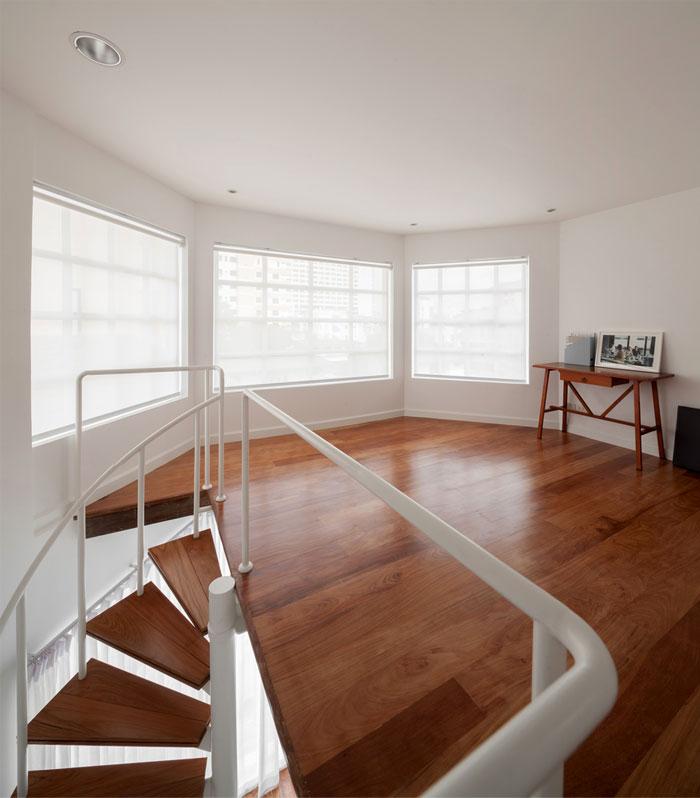 fattstudio mezzanine apartment 14