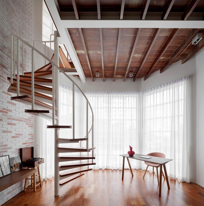 fattstudio mezzanine apartment 16
