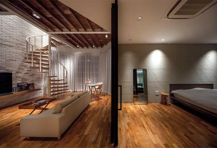 fattstudio mezzanine apartment 4