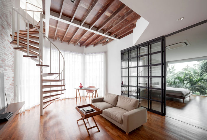 fattstudio mezzanine apartment 7