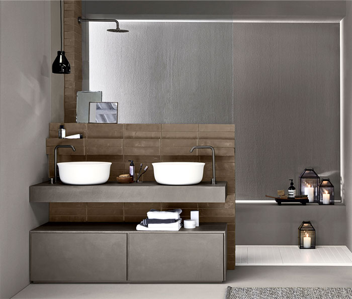 matte metal bathroom fixtures