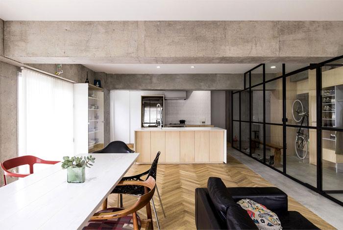 renovation 70s apartment tokyo tomokatzu hayakawa architects 3