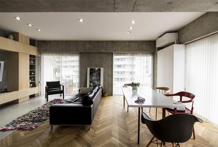 renovation 70s apartment tokyo tomokatzu hayakawa architects 7