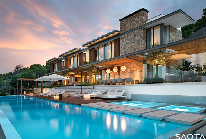 resort style home mallorca 15
