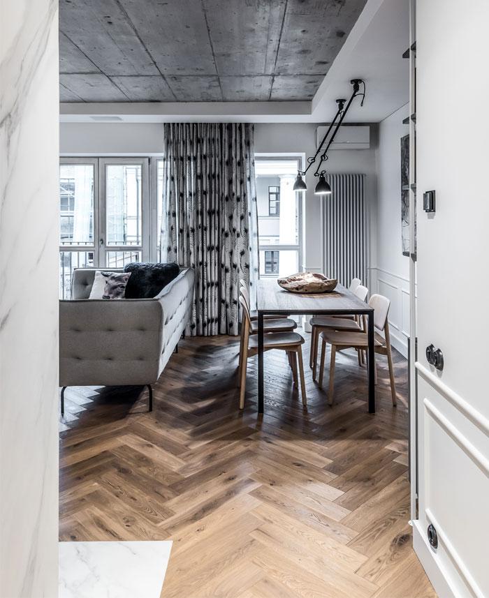dizaino virtuve apartment interior 1