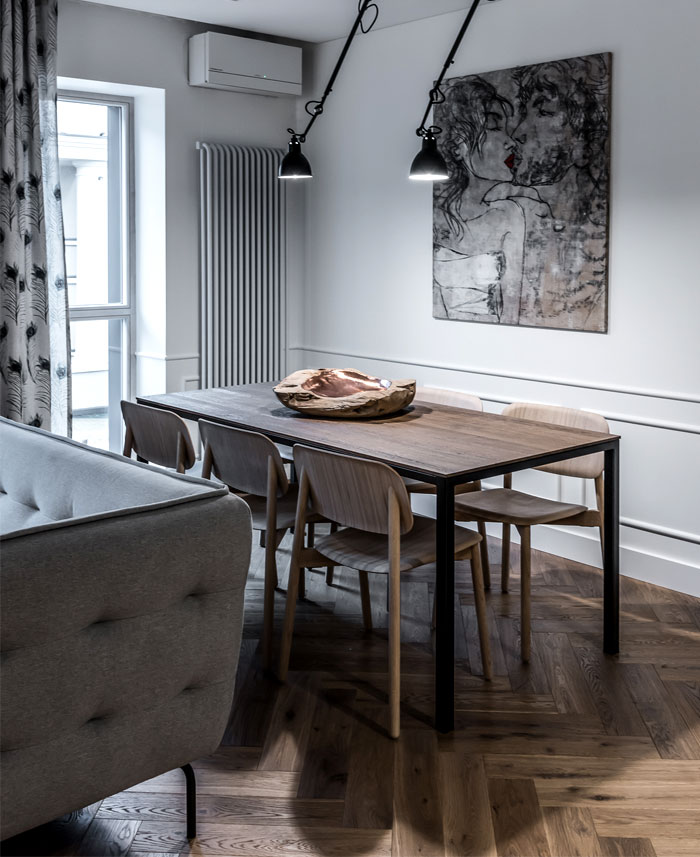 dizaino virtuve apartment interior 2