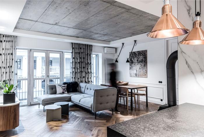 dizaino virtuve apartment interior 3