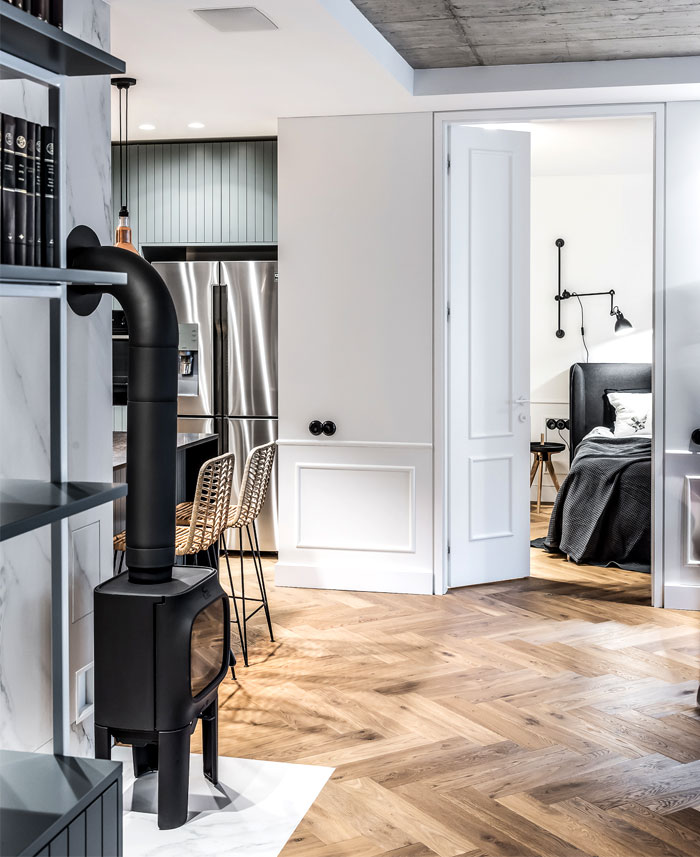 dizaino virtuve apartment interior 6