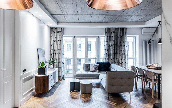 dizaino virtuve apartment interior 8