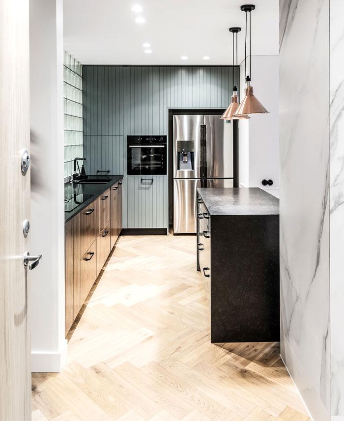 dizaino virtuve apartment interior 9