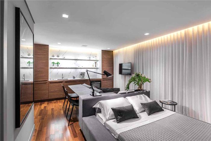 small apartment ambidestro arquitetura 14