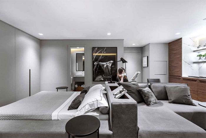 small apartment ambidestro arquitetura 7