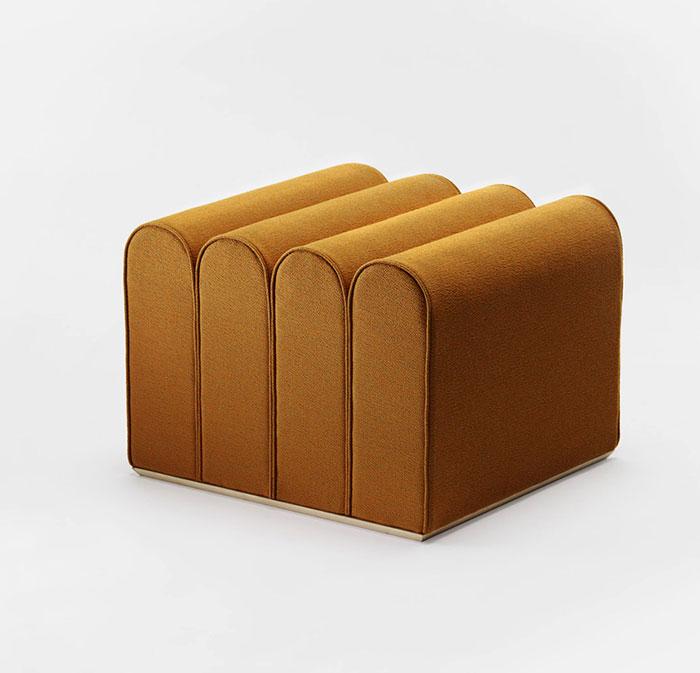 arkad pouffes note design studio 3