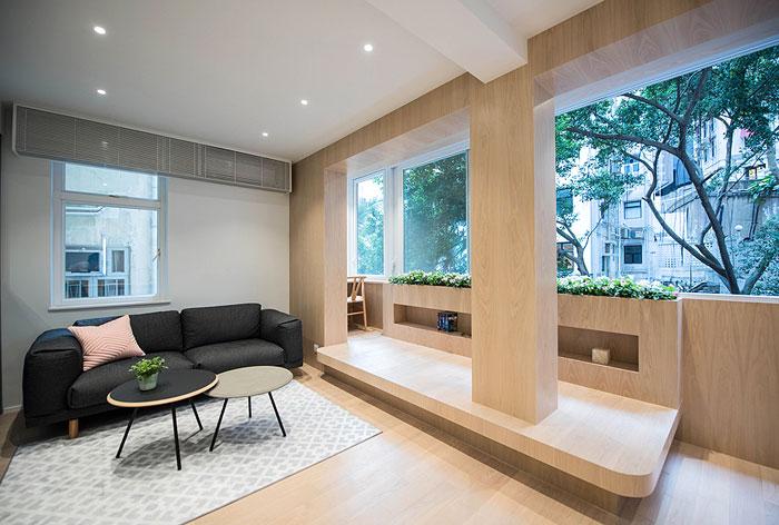 bean buro studio apartment hong kong 1
