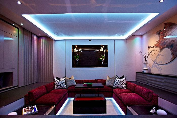 elevated bed platform living room