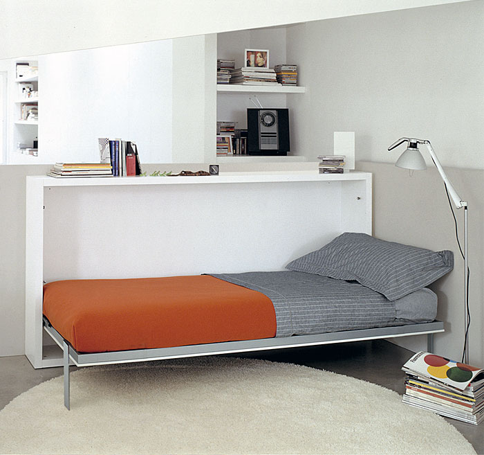 folding guest bed desk combo