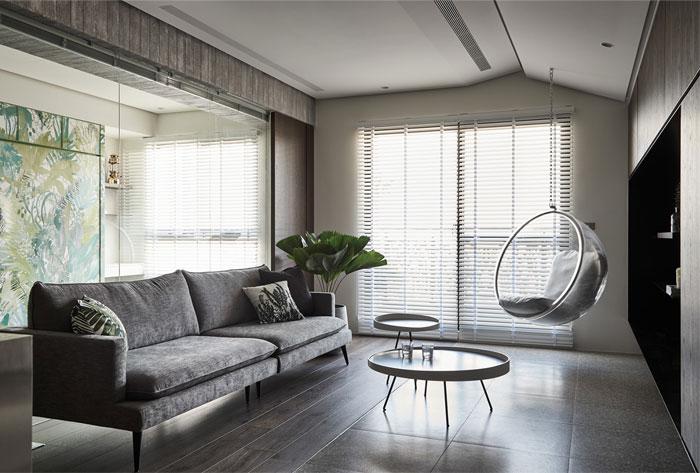 jungle decor modern apartment 1