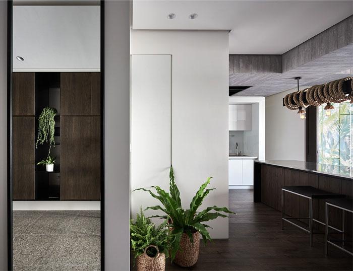 jungle decor modern apartment 10