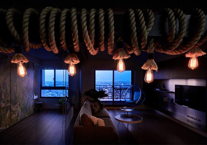 jungle decor modern apartment 11