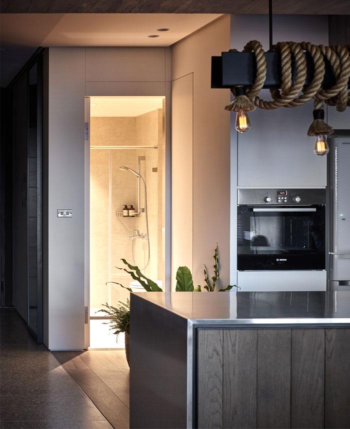 jungle decor modern apartment 14