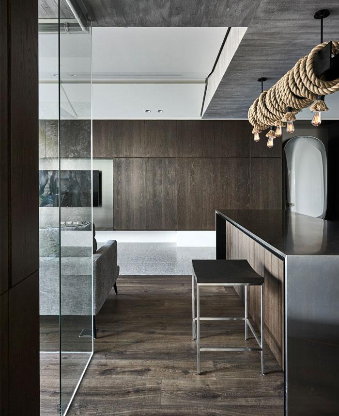 jungle decor modern apartment 16