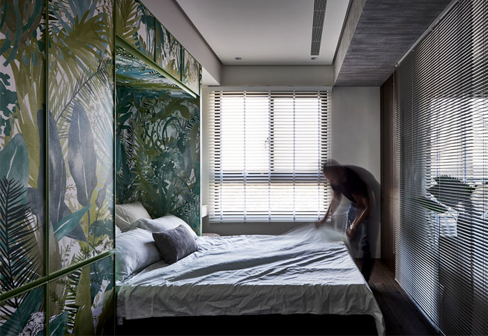 jungle decor modern apartment 2
