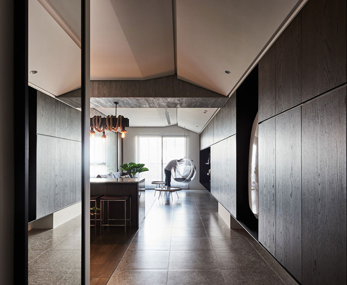 jungle decor modern apartment 3