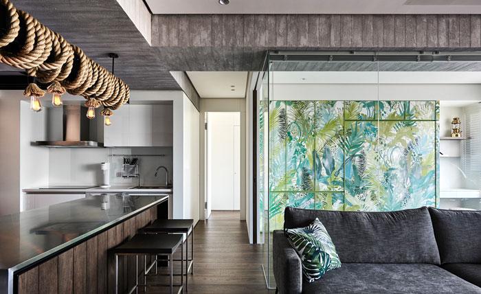 jungle decor modern apartment 9