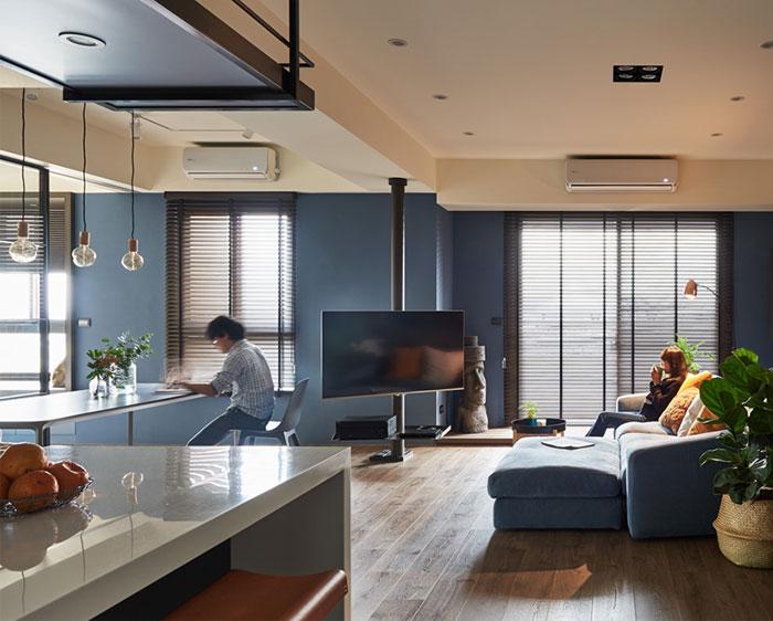 parti design studio apartment 14