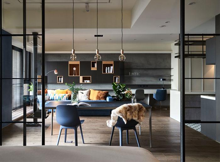 parti design studio apartment 16