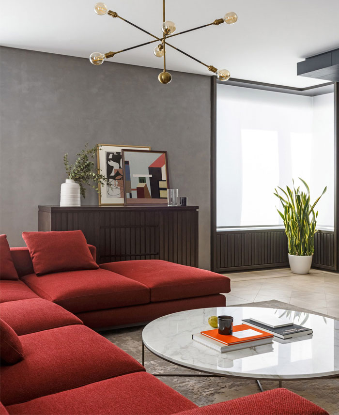 archetype edesign moscow flat 2