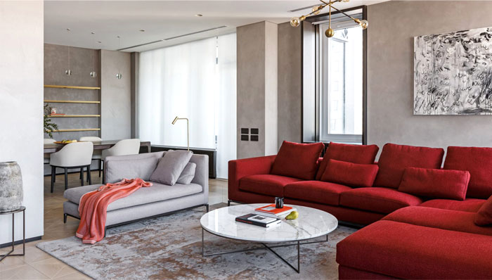 archetype edesign moscow flat 5