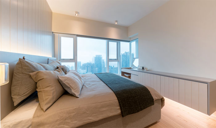 arctitudesign modern apartment hong kong 13