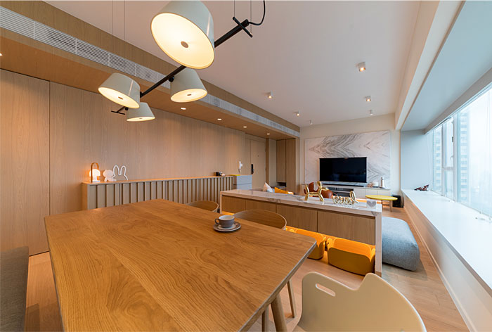 arctitudesign modern apartment hong kong 22