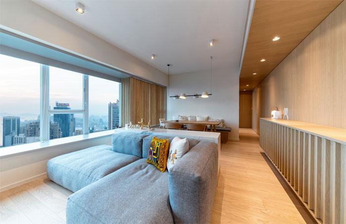 arctitudesign modern apartment hong kong 24