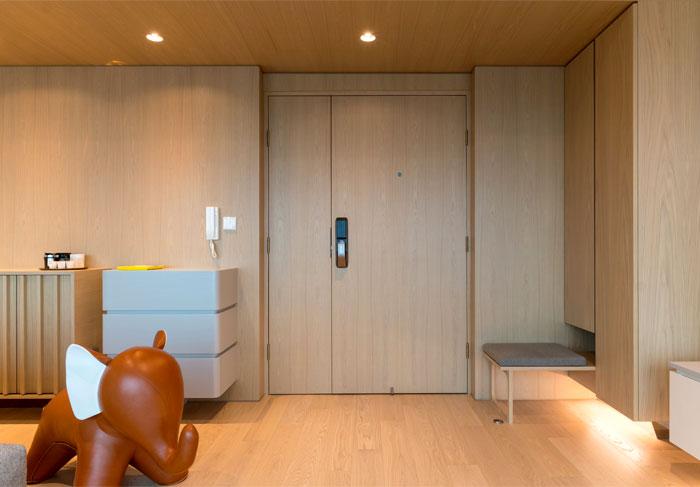 arctitudesign modern apartment hong kong 26
