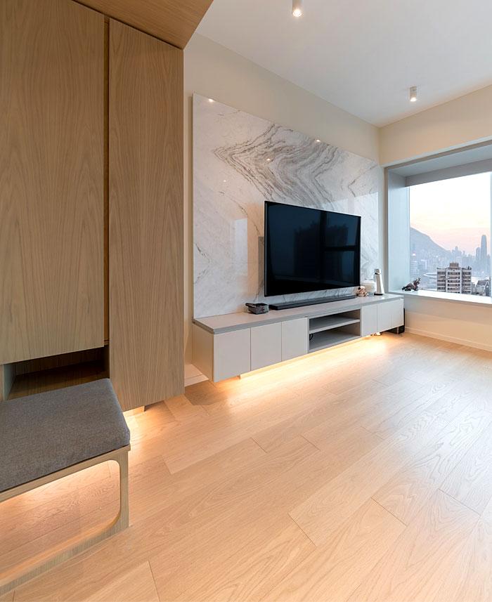 arctitudesign modern apartment hong kong 27