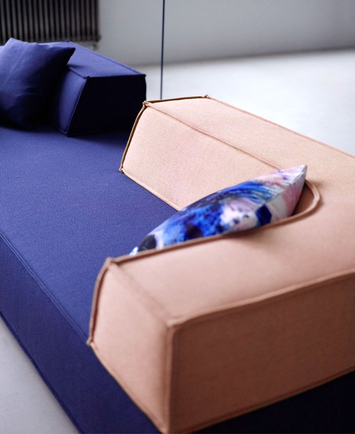 cor trio sofa drop pouf 22