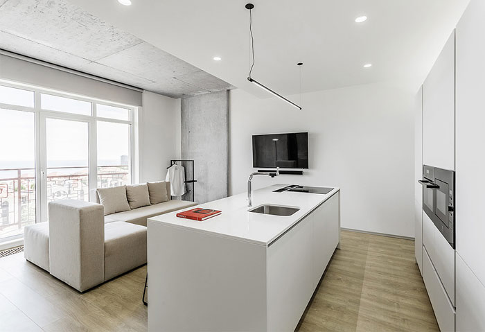 one bedroom apartment m3 architects 1