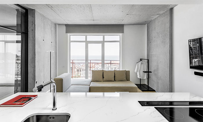 one bedroom apartment m3 architects 12