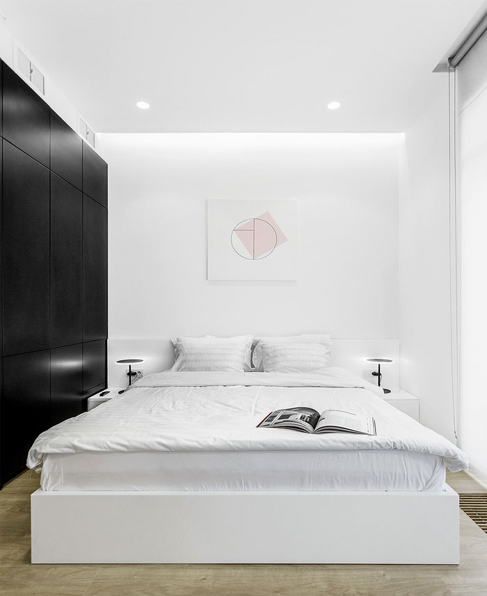 one bedroom apartment m3 architects 14
