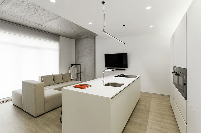 one bedroom apartment m3 architects 2