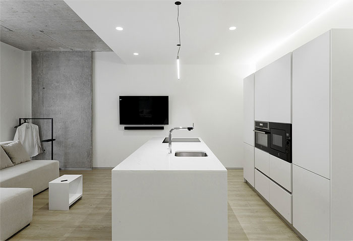 one bedroom apartment m3 architects 3