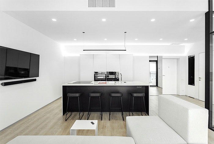 one bedroom apartment m3 architects 4