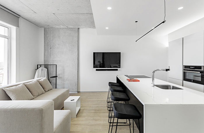 one bedroom apartment m3 architects 5